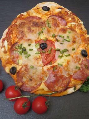 Pizza au Chorizo