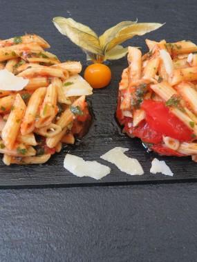 Penne à l'Italienne aux tomates confites