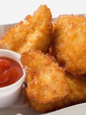 Croustillant -Nuggets au filet  de Poulet
