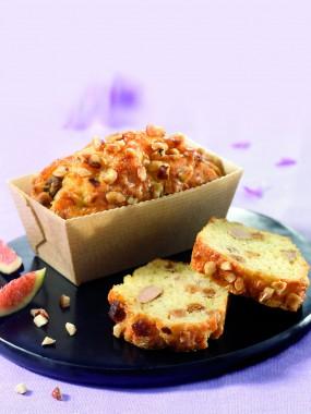 Cake à tiédir Foie Gras et Figues