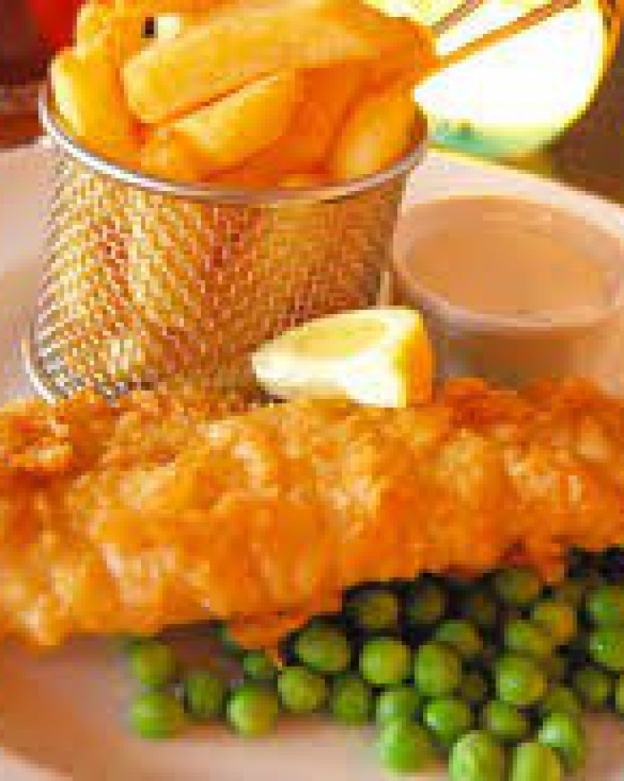 Fish'n chips de cabillaud 120 gr