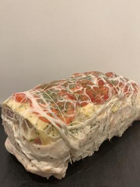 Roti de porc facon orloff